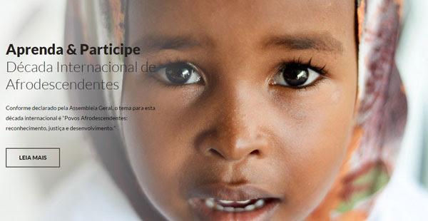 Resultado de imagem para IMAGENS Programa de Atividades para a Implementação da Década Internacional de Afrodescendentes