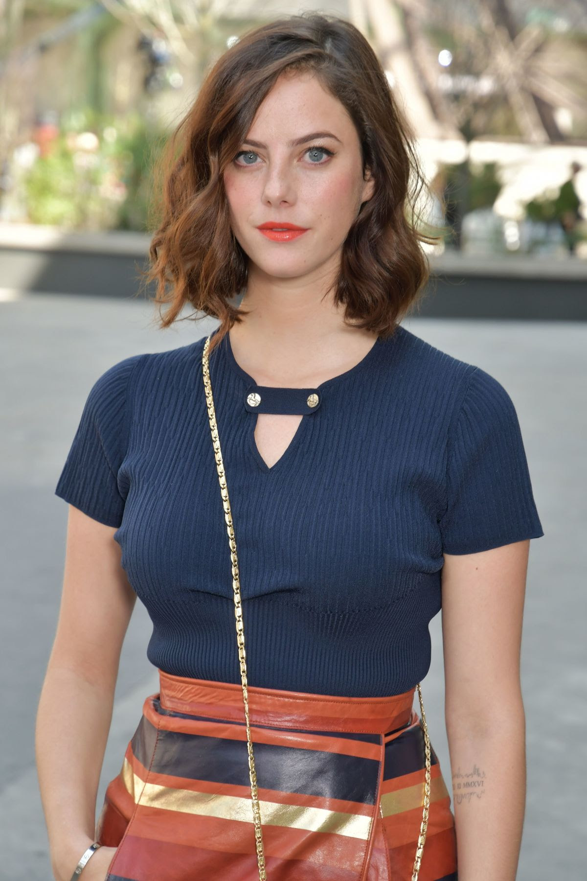 KAYA SCODELARIO at Chanel Fashion Show at Haute Couture Paris Fashion Week 07/04/2017