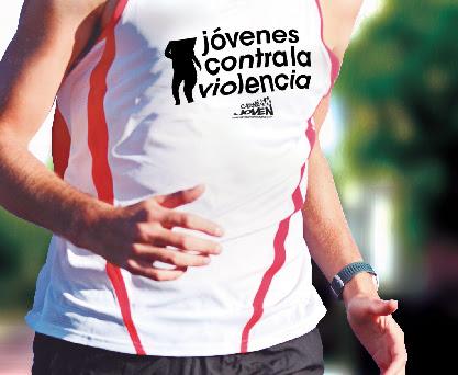 Logo Carrera Jóvenes contra la Violencia