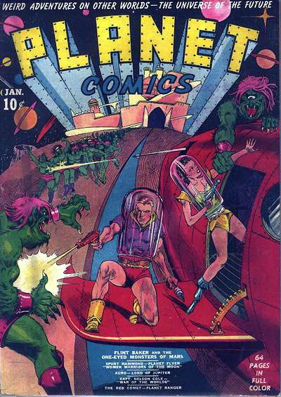 Planet Comics 001