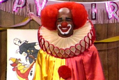 Damon Wayans as Homey D. Clown on the original IN LIVING COLOR.