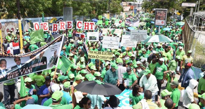 """SPM: Marcha Verde exige no participen en caso Odebrecht jueces """"vinculados"""" PLD"""