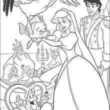 The Little Mermaid coloring pages - 32 free Disney ...