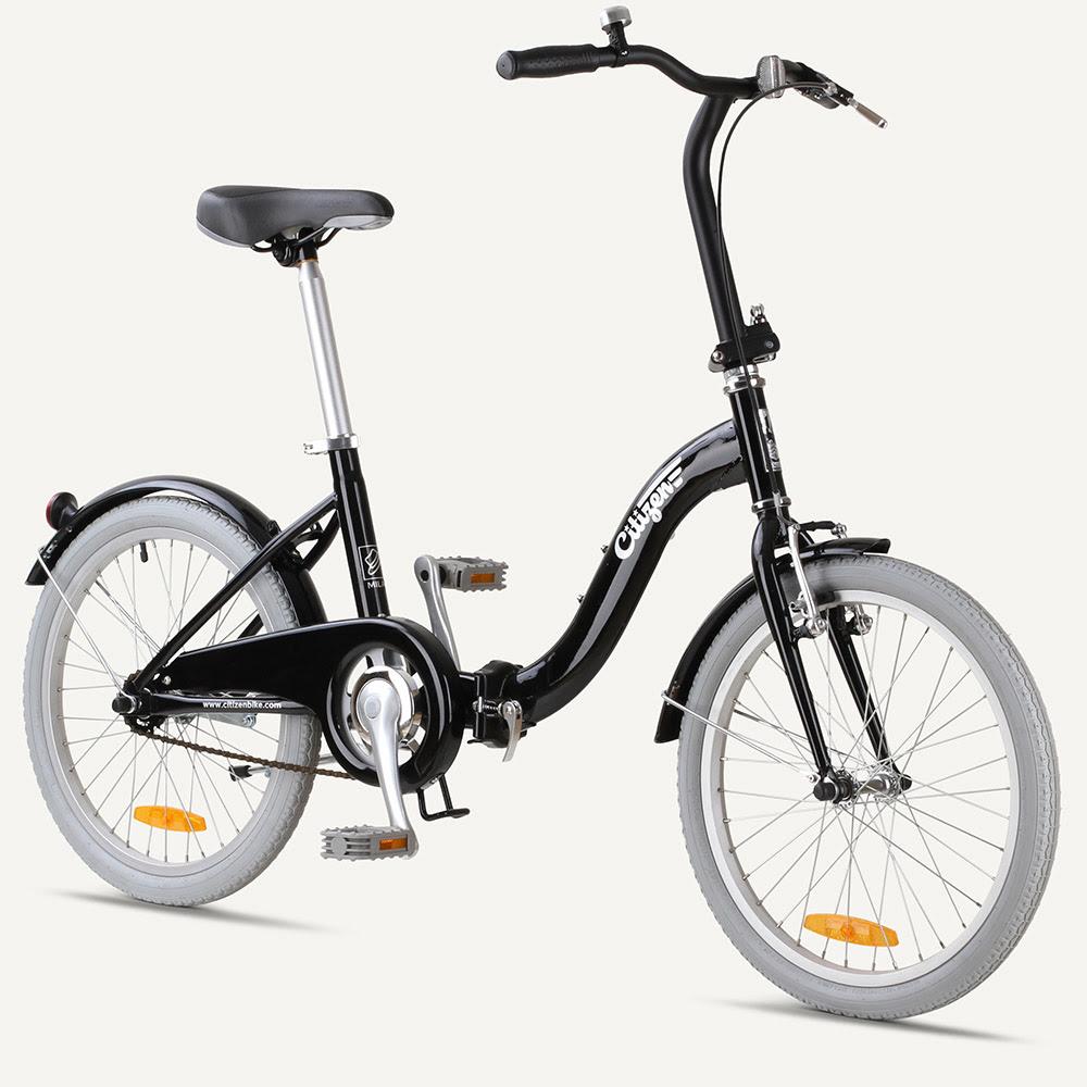 "MILAN Citizen Bike 20"" 1-speed Folding Bike with Step-thru Frame"