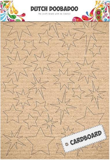 Dutch Doobadoo - Cardboard - Sterren