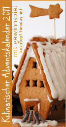 Kulinarischer Adventskalender 2011 mit Gewinnspiel