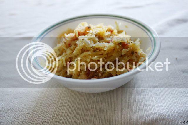 Greek Spaghetti Squash
