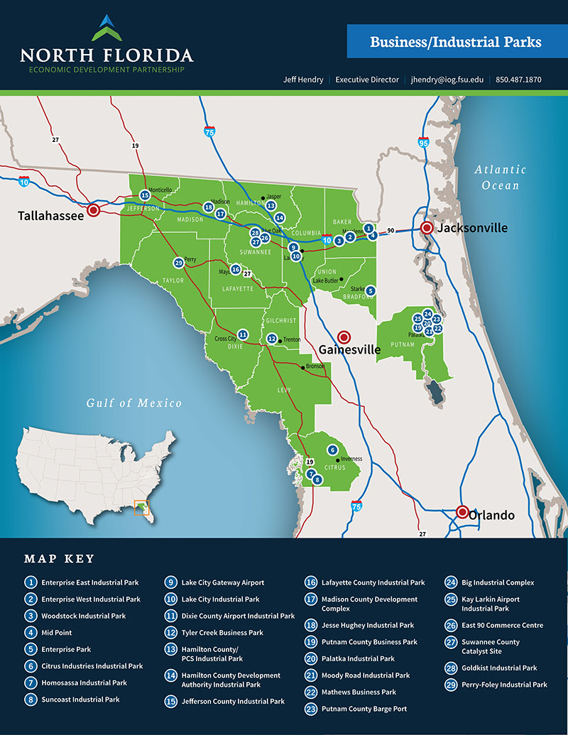 Key Industries In North Central Florida