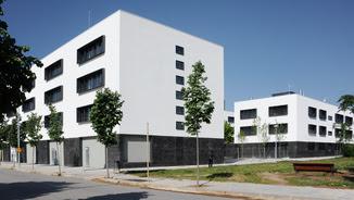 Habitatge social de la Generalitat a Santa Coloma de Farners (ACN)