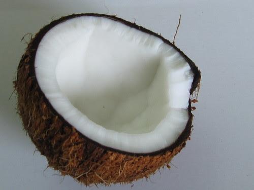 Coconut (halved)