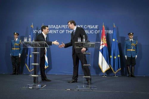 ΕΚΤΑΚΤΟ: Συμμαχία Ελλάδας-Σερβίας-Ρωσίας-Κίνας και μήνυμα σε Αλβανία-Τουρκία – Α.Τσίπρας: «Στις κρίσιμες στιγμές βρεθήκαμε πάντα στην ίδια πλευρά» – Σύνδεση Πειραιά-Θεσ/κη-Βελιγράδι για τον «Δρόμο του Μεταξιού» - Εικόνα2