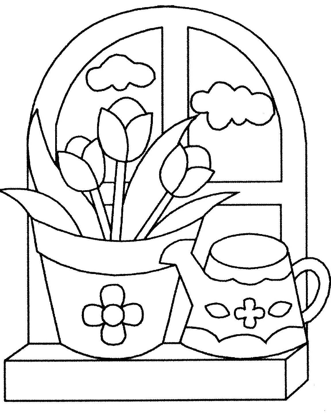 Élégant Coloriage De Jardin A Imprimer   Haut Coloriage HD ...