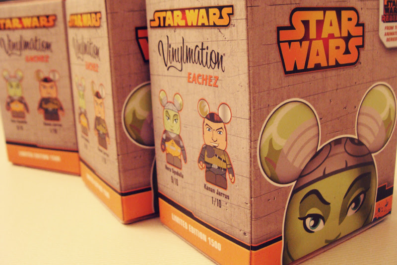 Star Wars: Rebels Eachez Unboxing | Anakin And His Angel