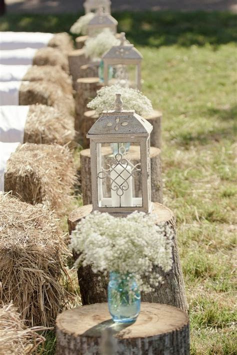 Wooden stumps at your wedding   Wedding Flair
