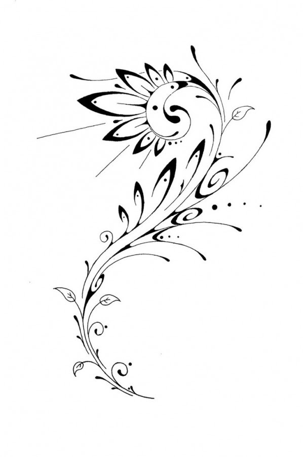 Flower Designs For Tattoos Tribal Tattoomagz
