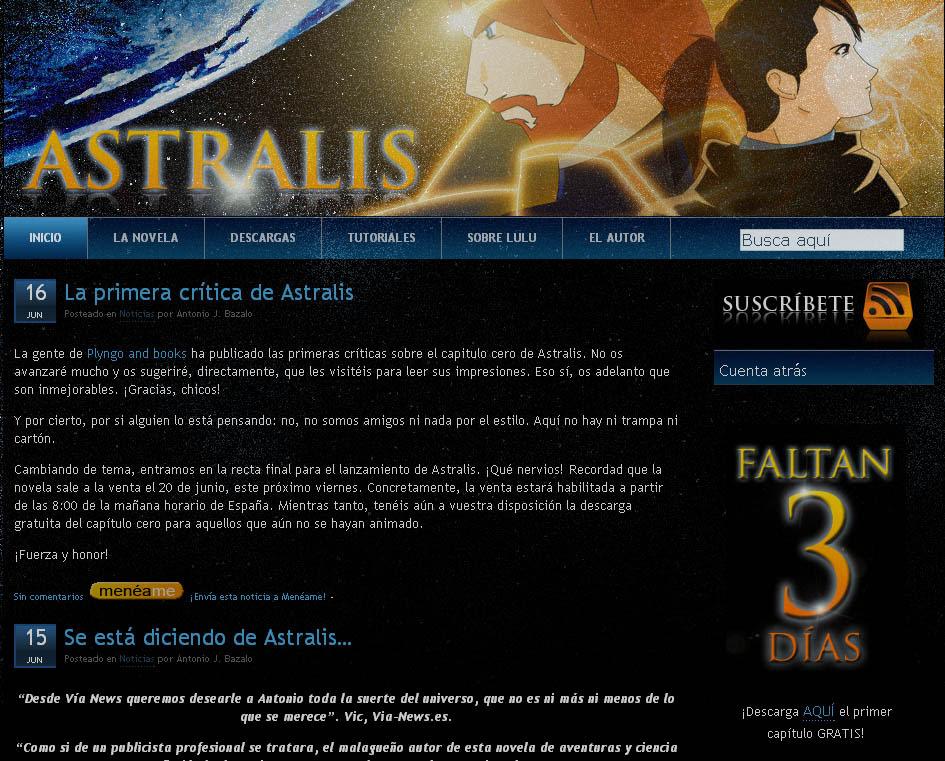 Astralis, web