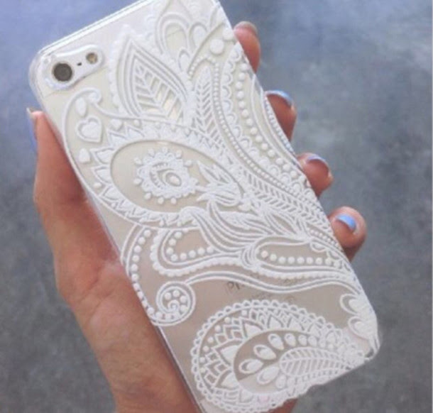 Phone Cover Jewels White Case Iphone Phone Cover Iphone Case