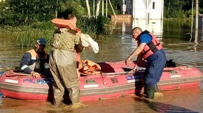 На Кубани жителям около 1,8 тысячи домов окажут матпомощь после подтоплений