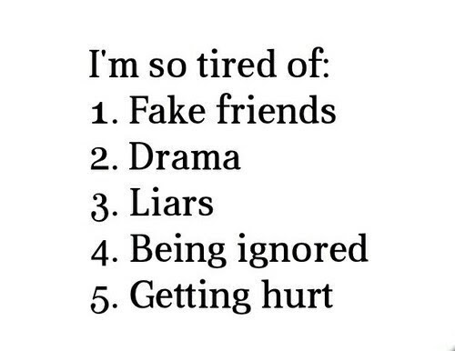 Im Tired Of Fake Friends Quote Quote Number 573267 Picture Quotes