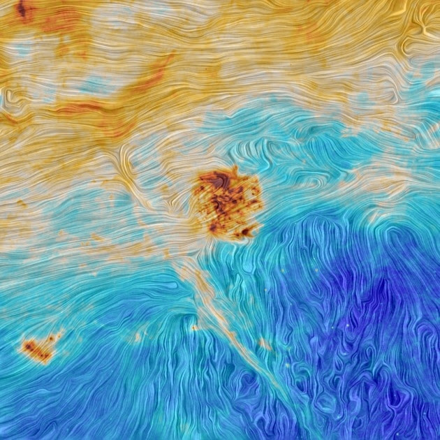 the_magellanic_clouds_and_an_interstellar_filament