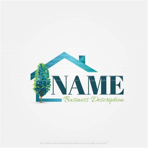 create    house real estate logo design