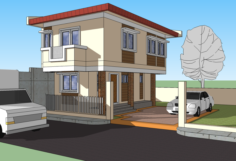 2 Storey House Exterior Design Philippines House Design Philippines