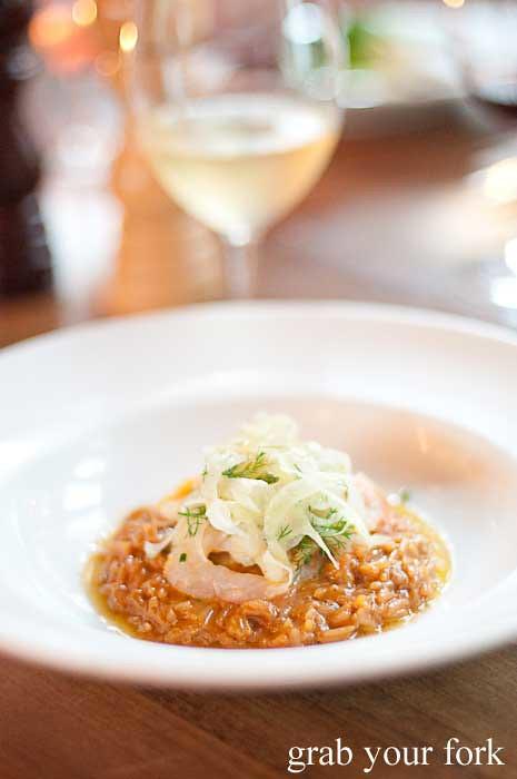 crayfish risotto