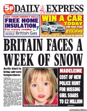 UK Newspaper Front Pages for Thursday, 2 February 2012 | Paperboy ...