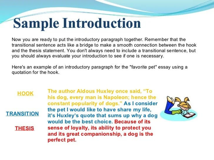 how to make a thesis statement google