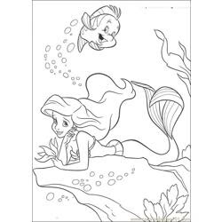 Wedding Ceremony Of Ariel And Eric Coloring Page - Free ...