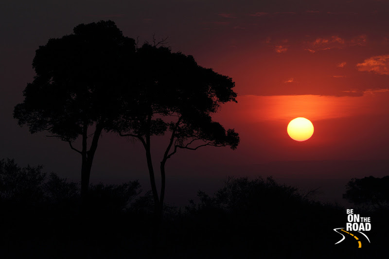 Loved the orange hues of this Maasai Mara sunset