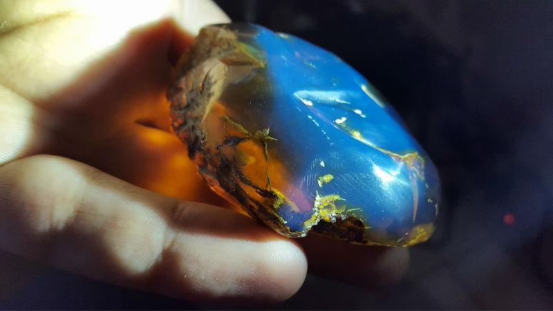 Resultado de imagen para ambar dominicano azul