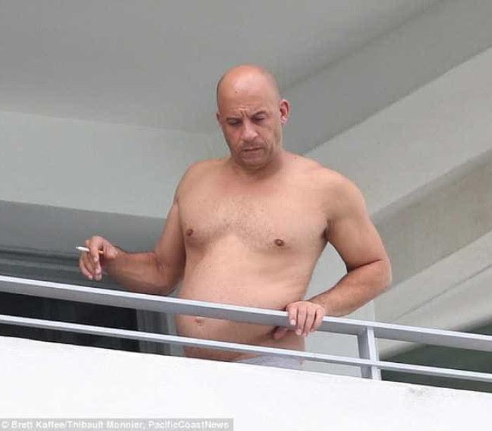 """""""Vin Diesel como nunca o viu"""" ou """"A idade chega a todos."""""""