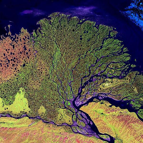 File:Lena River Delta - Landsat 2000.jpg