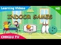 Images Of Indoor And Outdoor Games With Names
