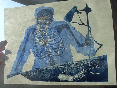 Wilhelm Roentgen's skeleton