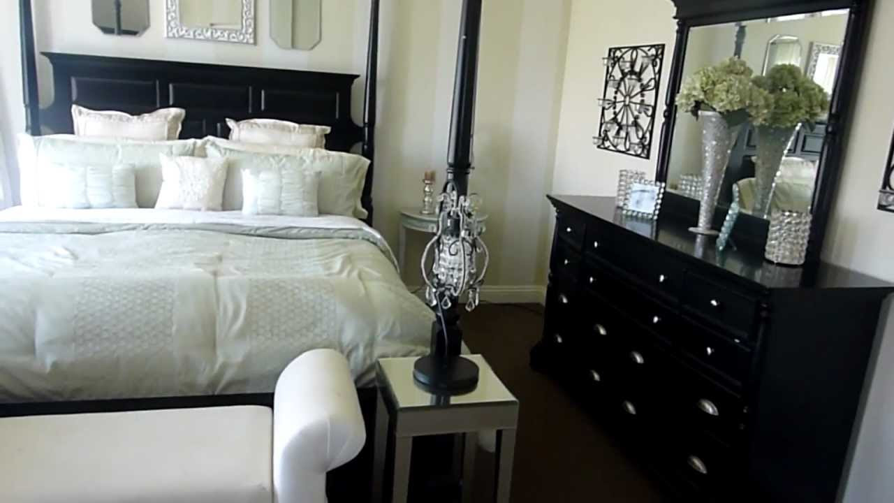 My Master Bedroom - Decorating on a Budget - YouTube