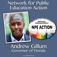 NPE Action endorses Andrew Gillum for Governor of Florida