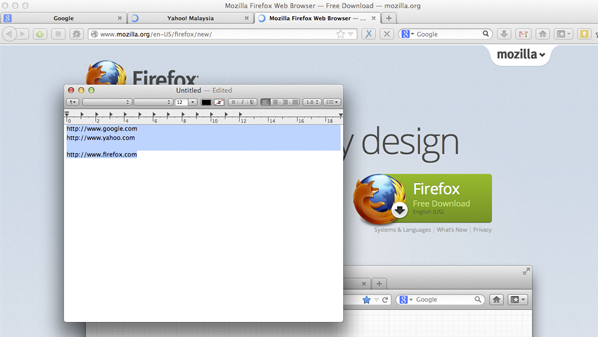 تسمح هذه الإضافة عند نسخ مجموعة من الروابط بفتحها جميعاً في المتصفح بكل سهولة.