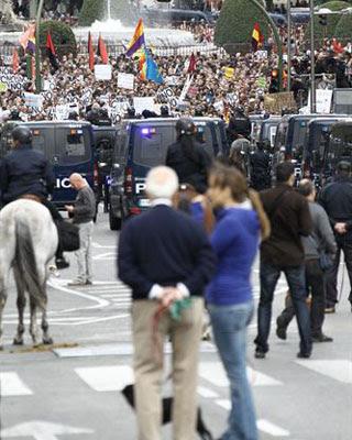 Una imagen de la concentración del 25-S.