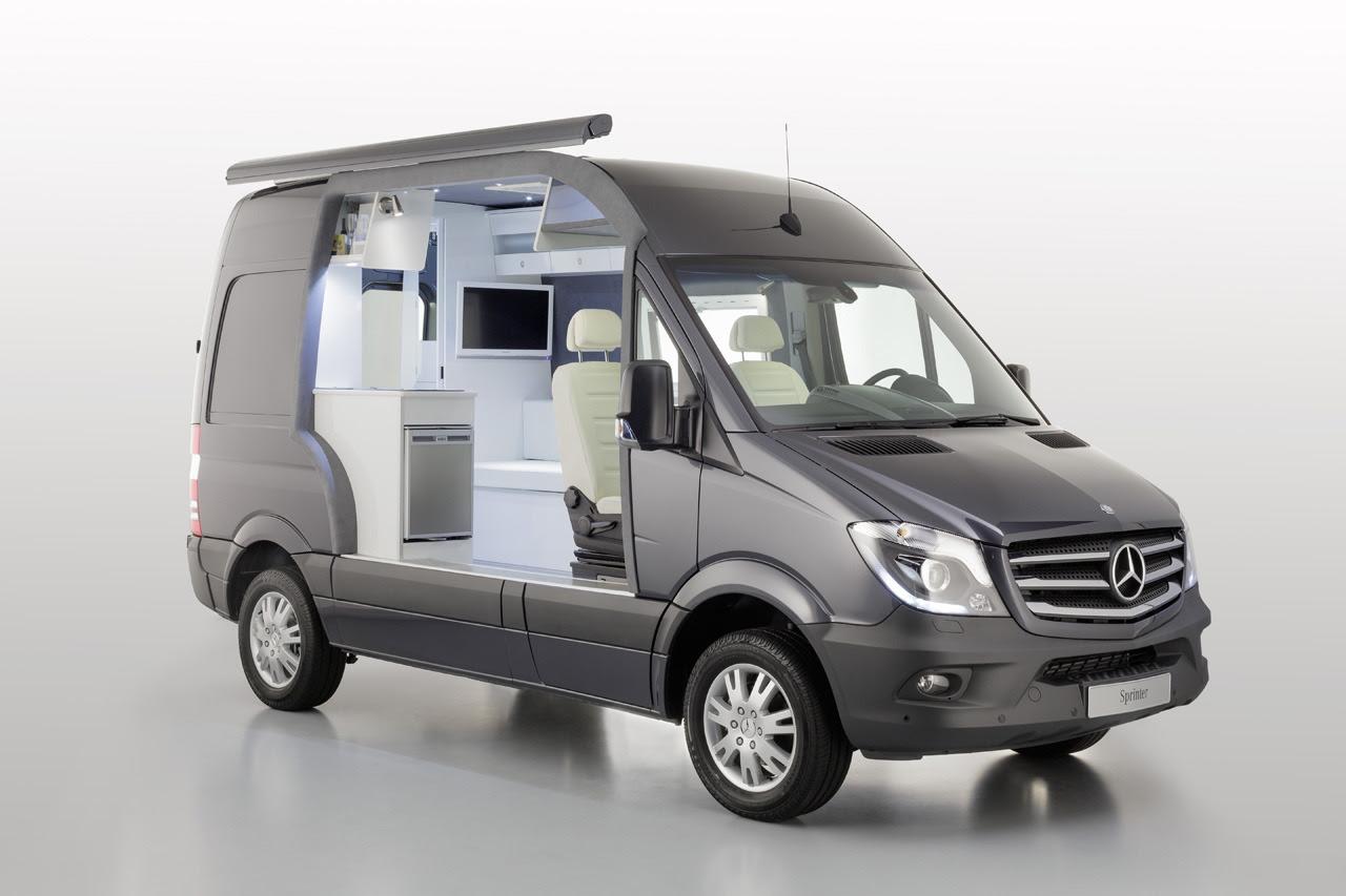 2014 Mercedes-Benz Sprinter Caravan Concept - conceptcarz.com