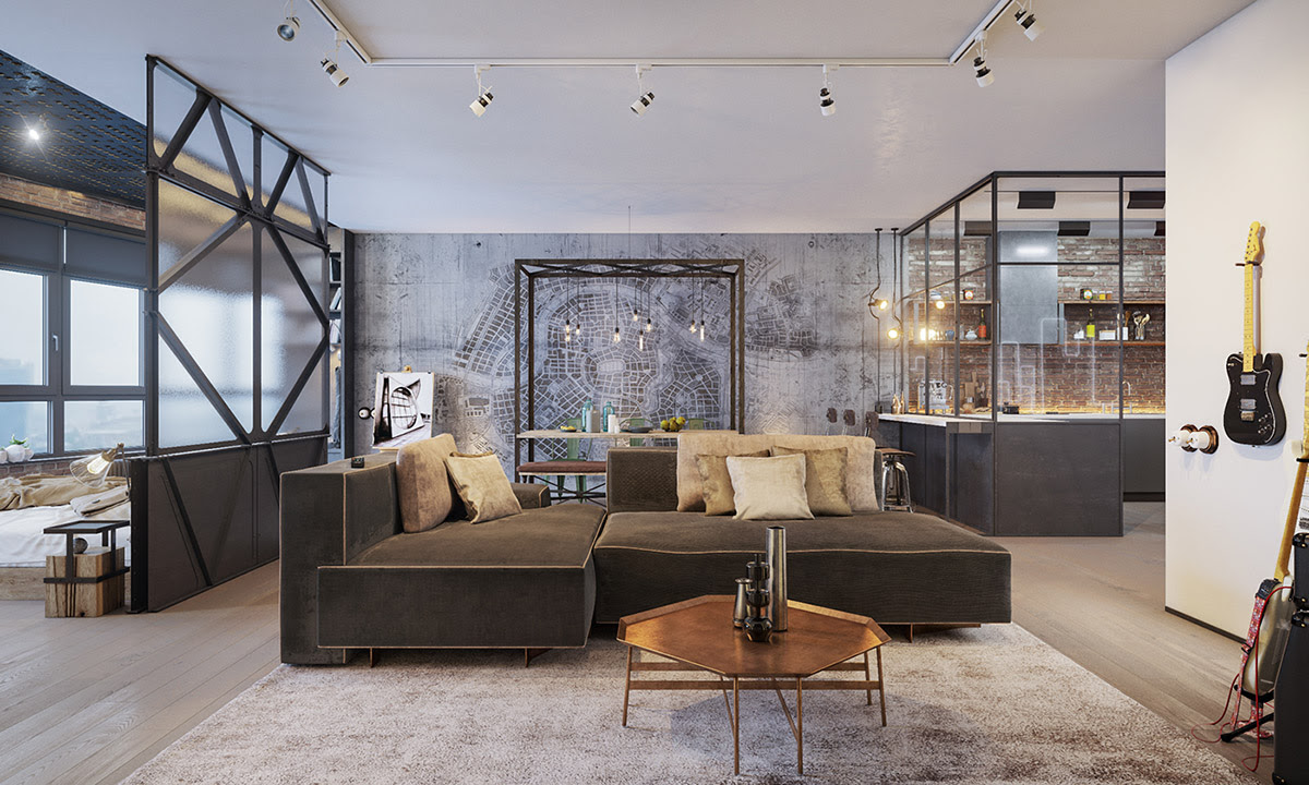 Four Types Of Industrial Style Decor
