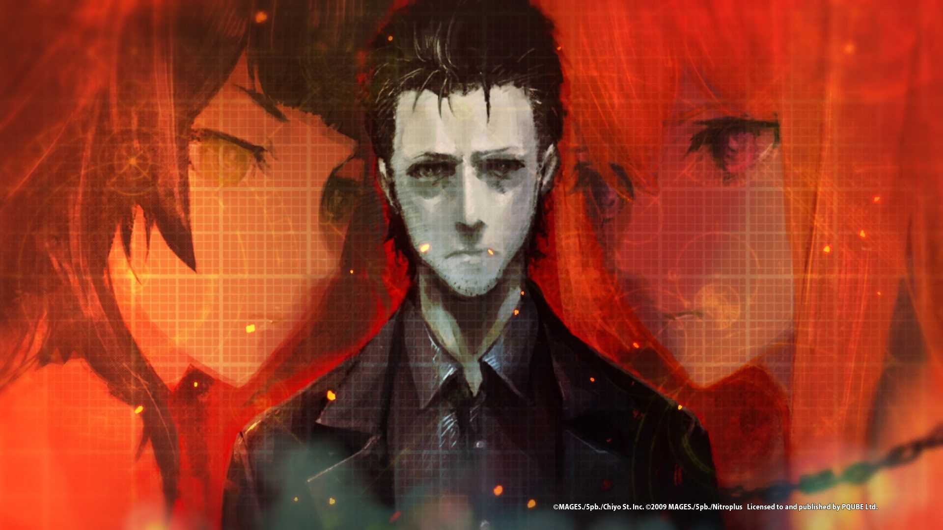 Steins Gate 0 Anime Visual Character Designs Revealed Vgculturehq