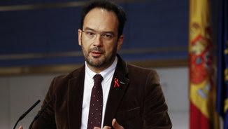 El portaveu del PSOE, Antonio Hernando (EFE)