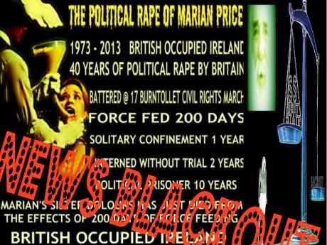Marian Price News Blackout