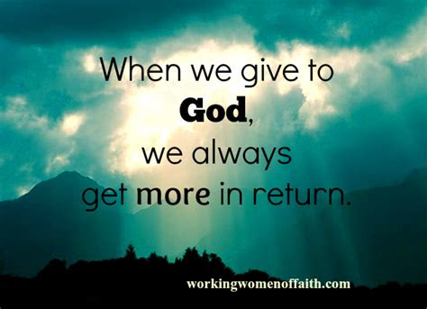 Giving It All To God Quotes