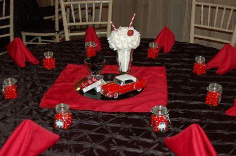 1950's Table Decoration   Edible Centerpiece   Diecast Car