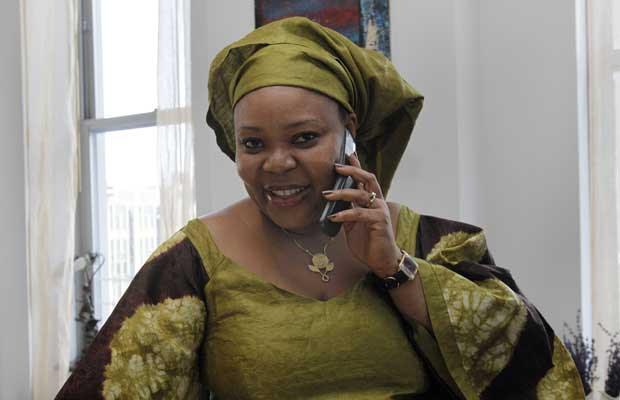 Leymah Gbowee nesta sexta-feira (7) em Nova York (Foto: AP)