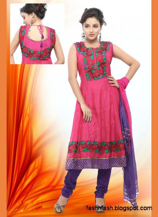Anarkali-Indian-Pakistani-Party-Wear-Cotton-Shalwar-Kamiz-Suit-2012-2013-