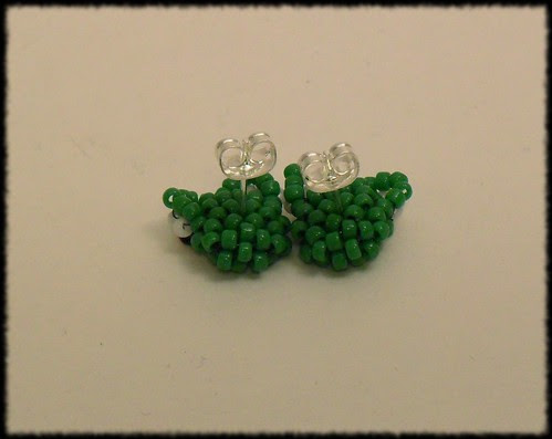 Beading Daily Earrings Every Day Challenge: Day 26b